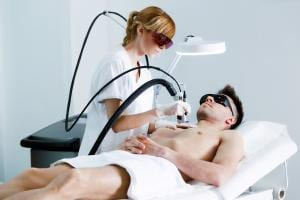 Laser hair removal for men at HRBR